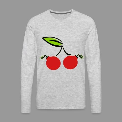 Cherry Bomb - Men's Premium Long Sleeve T-Shirt