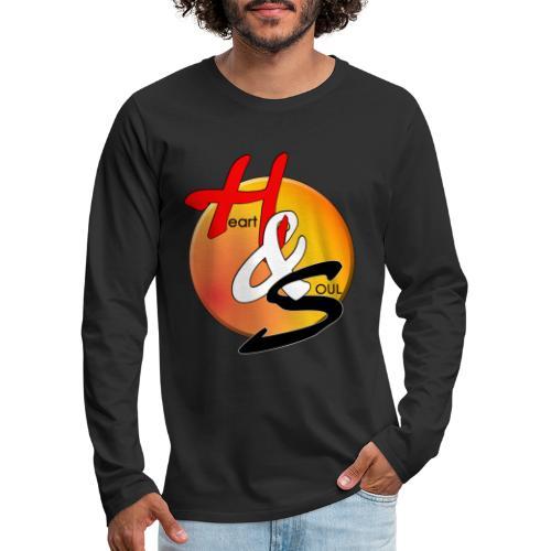 Rcahas logo gold - Men's Premium Long Sleeve T-Shirt