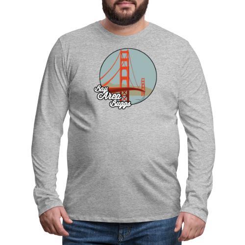 Bay Area Buggs Bridge Design - Men's Premium Long Sleeve T-Shirt