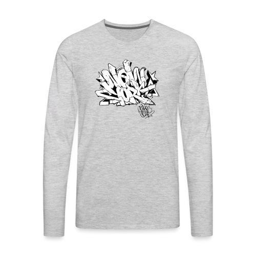 Behr - New York Graffiti Design - Men's Premium Long Sleeve T-Shirt