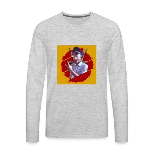 smoke - Men's Premium Long Sleeve T-Shirt
