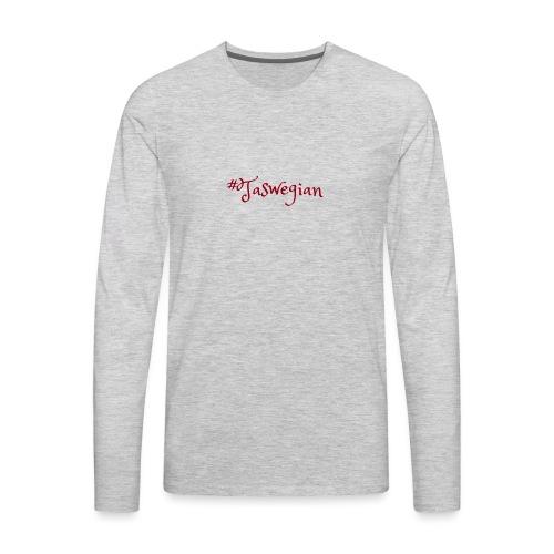 Taswegian Red - Men's Premium Long Sleeve T-Shirt