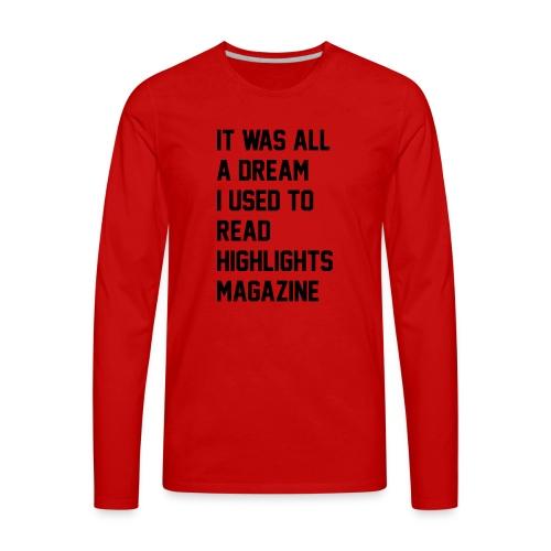 JUICY 1 - Men's Premium Long Sleeve T-Shirt