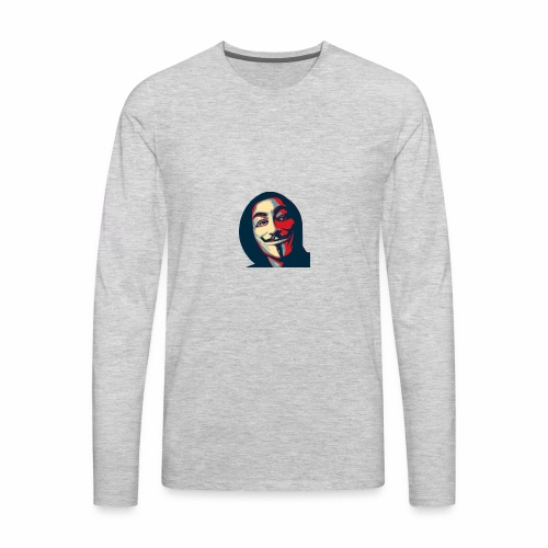 UnknownLio Logo - Men's Premium Long Sleeve T-Shirt