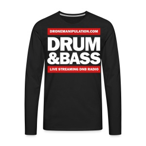 Drum and Bass - Men's Premium Long Sleeve T-Shirt