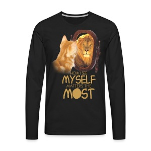 SELF WORTH AND SELF RESPECT - Men's Premium Long Sleeve T-Shirt