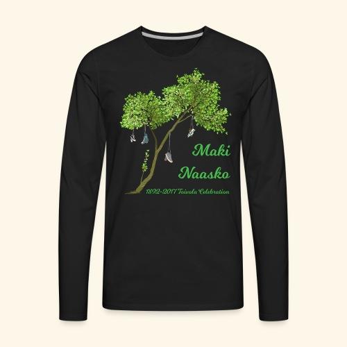Maki Naasko Toivola Celebration 2017 - Men's Premium Long Sleeve T-Shirt