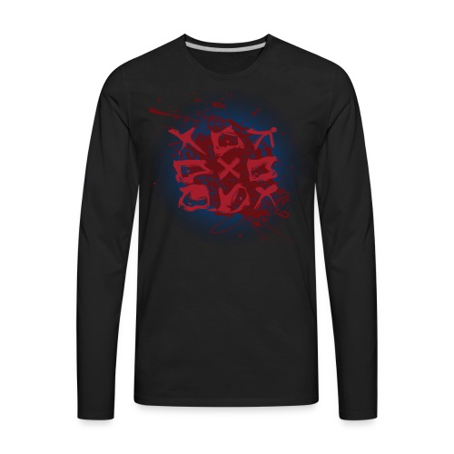 Tic Tac Toe - Men's Premium Long Sleeve T-Shirt