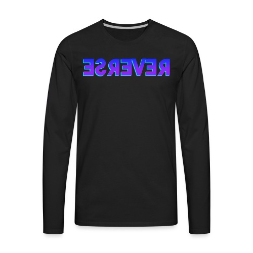 Reverse Clothing Brand - Men's Premium Long Sleeve T-Shirt