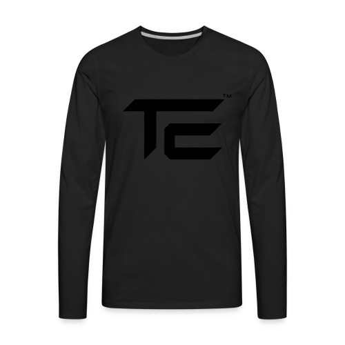 TE Logo - Men's Premium Long Sleeve T-Shirt