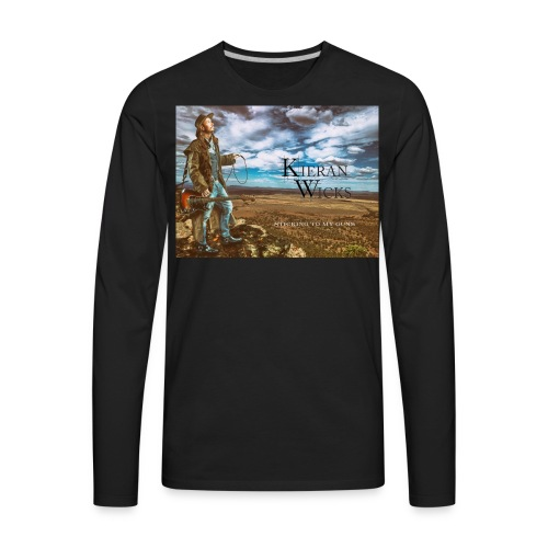 Sticking to My Guns by Kieran Wicks Album Cover - Men's Premium Long Sleeve T-Shirt