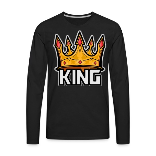 The Great Hero King - Men's Premium Long Sleeve T-Shirt