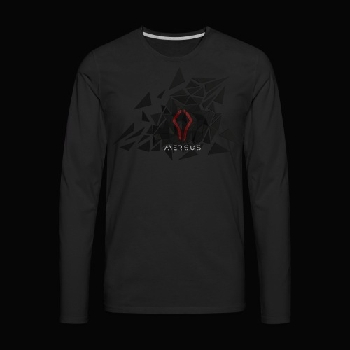 Aversus - Logo + Name - Men's Premium Long Sleeve T-Shirt