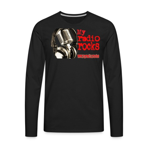 My Radio.Rocks Appearal - Men's Premium Long Sleeve T-Shirt