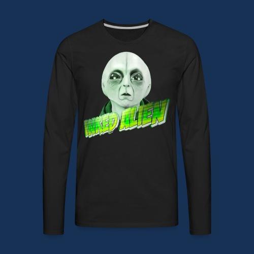 Inked Alien Logo #2 - Men's Premium Long Sleeve T-Shirt