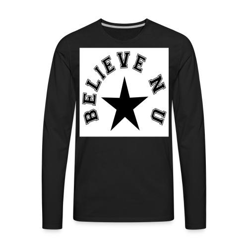 Believe N U - Men's Premium Long Sleeve T-Shirt