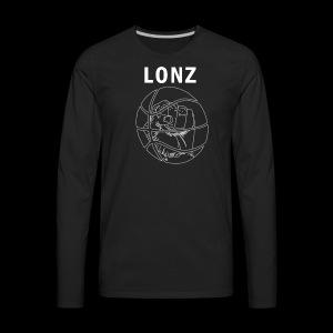 lonz logo 1 - Men's Premium Long Sleeve T-Shirt