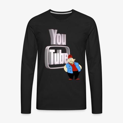 New Design - Men's Premium Long Sleeve T-Shirt