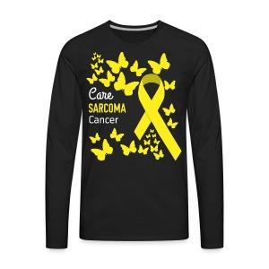 Sarcoma Cancer Awareness - Men's Premium Long Sleeve T-Shirt