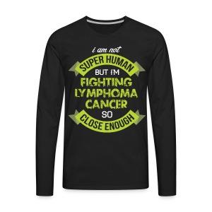 Lymphoma Cancer Awareness - Men's Premium Long Sleeve T-Shirt