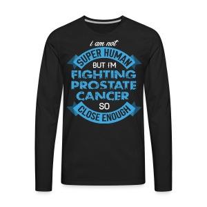 Prostate Cancer Awareness - Men's Premium Long Sleeve T-Shirt