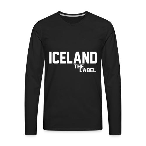 iceland_the_label_printable - Men's Premium Long Sleeve T-Shirt