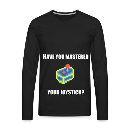 MasteredYourJoystick - Men's Premium Long Sleeve T-Shirt