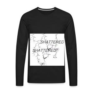 SHATTERED - Men's Premium Long Sleeve T-Shirt