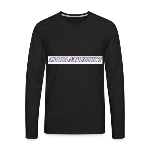 pumba lamboghini - Men's Premium Long Sleeve T-Shirt