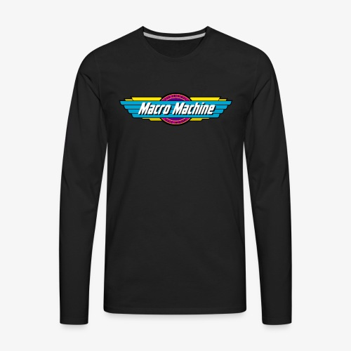 Macro Machine - Men's Premium Long Sleeve T-Shirt
