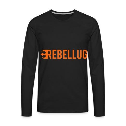 just_rebellug_logo - Men's Premium Long Sleeve T-Shirt