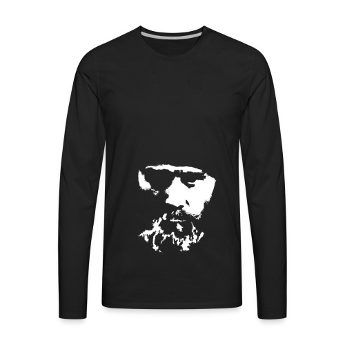 KuixoteWhiteLarge - Men's Premium Long Sleeve T-Shirt