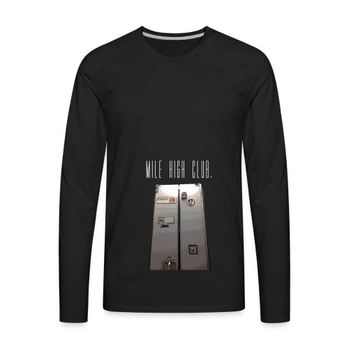 MILE HIGH CLUB - Men's Premium Long Sleeve T-Shirt