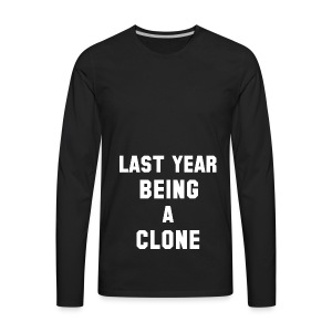 C-LONE THUG - Men's Premium Long Sleeve T-Shirt