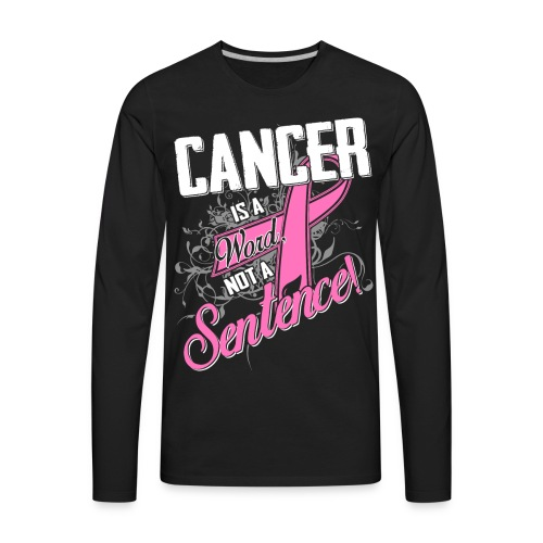 Cancer Survivor Tees - Men's Premium Long Sleeve T-Shirt