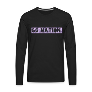 GG NATION MERCH - Men's Premium Long Sleeve T-Shirt
