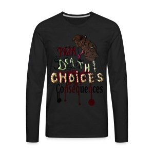 Consequences - Men's Premium Long Sleeve T-Shirt