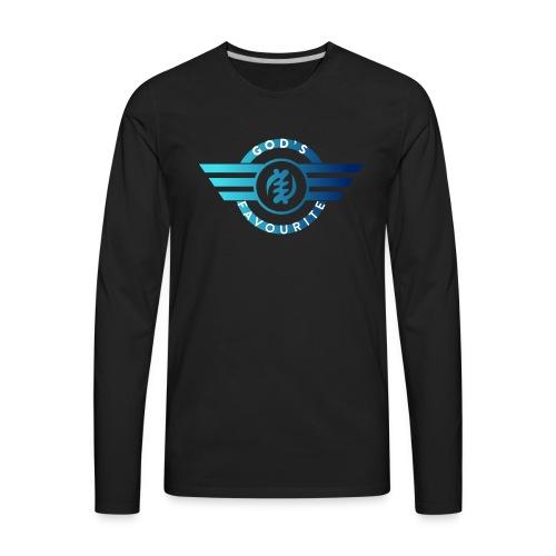 God's Favourite Logo - Men's Premium Long Sleeve T-Shirt