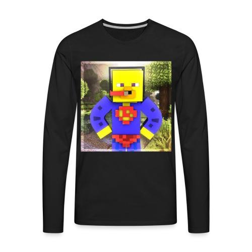 Captain Quack - Men's Premium Long Sleeve T-Shirt