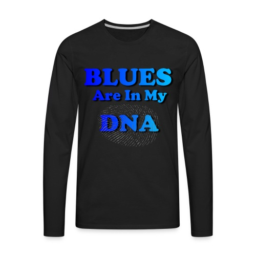 Blues DNA - Men's Premium Long Sleeve T-Shirt