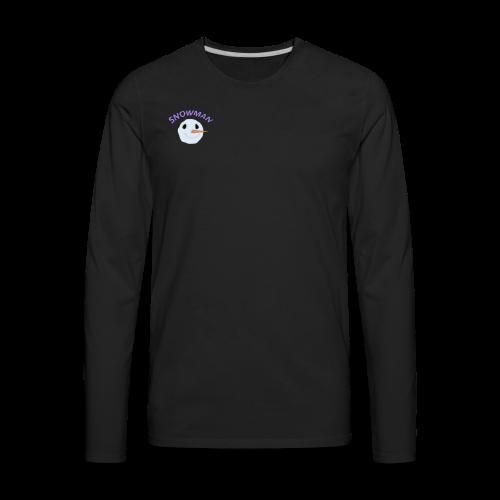 Snowy Boi - Men's Premium Long Sleeve T-Shirt