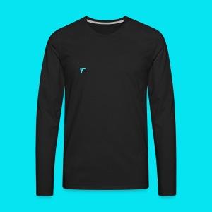 Issa Trashley Logo Design 1 - Men's Premium Long Sleeve T-Shirt
