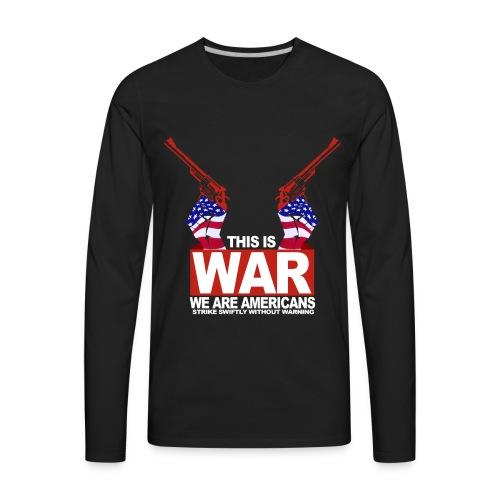 War USA - Men's Premium Long Sleeve T-Shirt