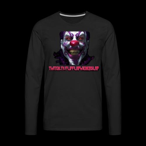 twitch.tv/FlipFlapWienerSlap Design - Men's Premium Long Sleeve T-Shirt