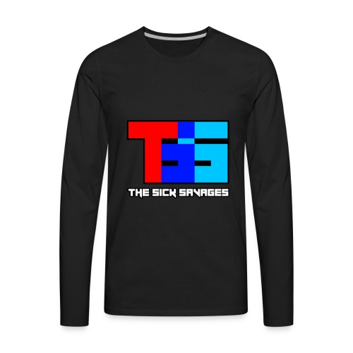 TSS Logo - Men's Premium Long Sleeve T-Shirt