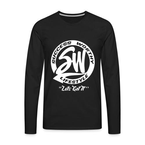 SW_white - Men's Premium Long Sleeve T-Shirt