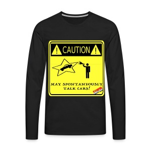TALK_CARS - Men's Premium Long Sleeve T-Shirt