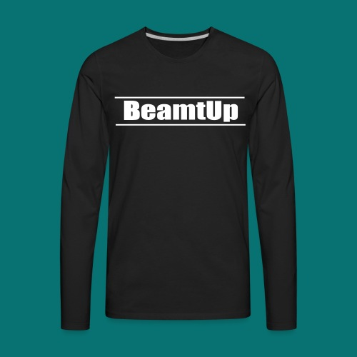 Original BeamtUp Logo - Men's Premium Long Sleeve T-Shirt