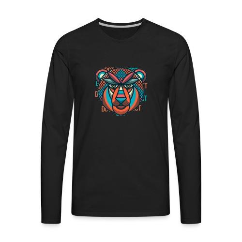 Design Lion Panda - Men's Premium Long Sleeve T-Shirt