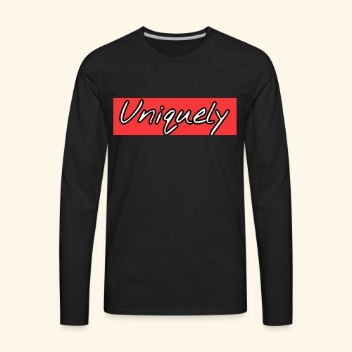 uniquely - Men's Premium Long Sleeve T-Shirt